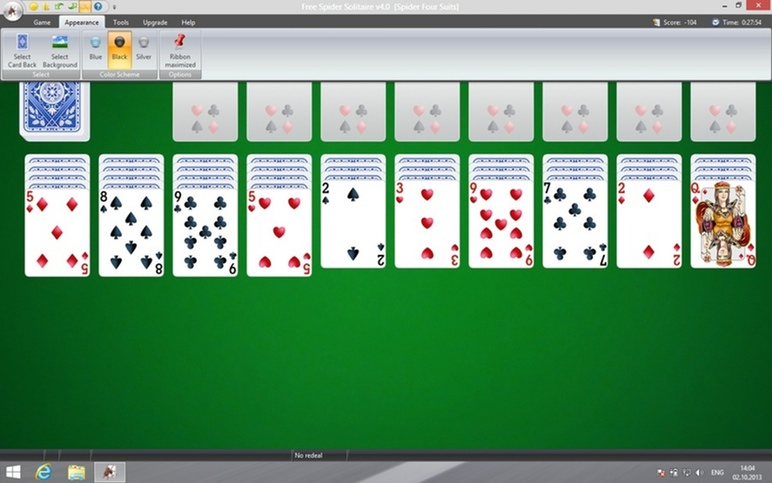 скачать онлайн игру пасьянс косынка